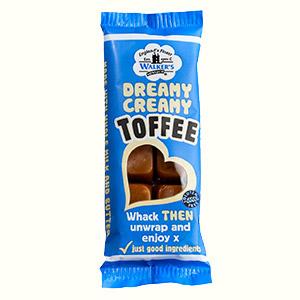 Dreamy Creamy Toffee bar Walker's Nonsuch