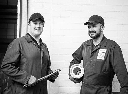 Walker's Nonsuch Factory Maintenance team