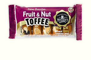Fruit and nut toffee bars