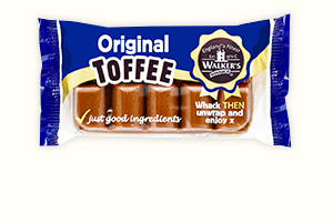 Original toffee bar 100g