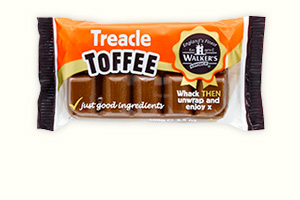 Treacle 100g toffee bars