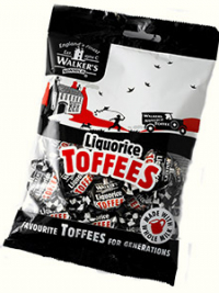 Liquorice Toffees bag