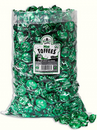 Mint toffees