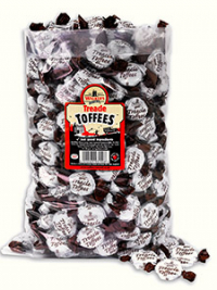 Treacle Toffees in a 2.5kg bag.