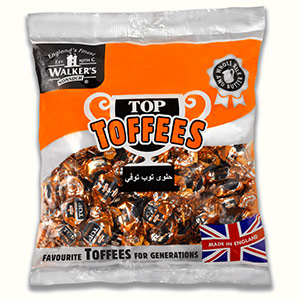1kg bag of twist wrapped Top Toffees